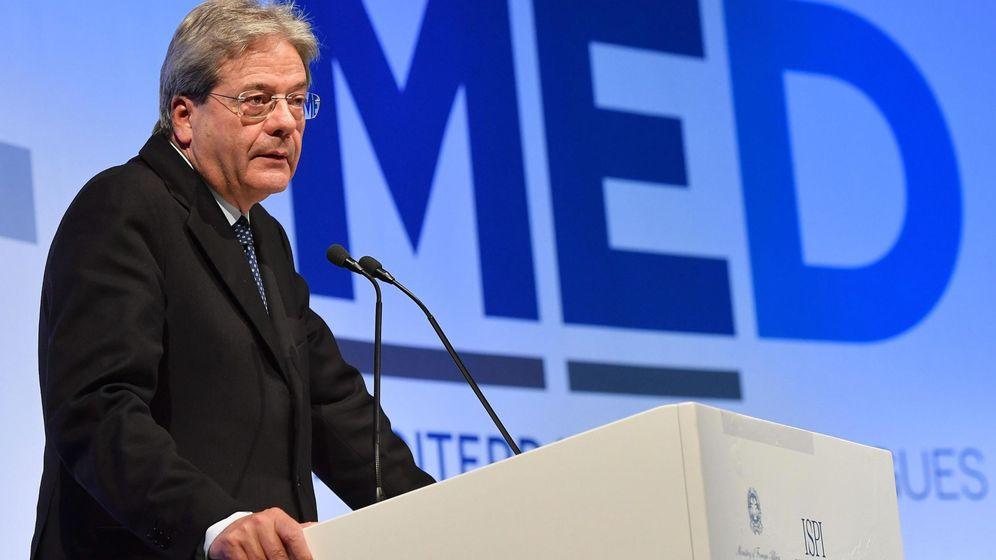 Foto: El ministro italiano de Asuntos Exteriores, Paolo Gentiloni. (EFE)