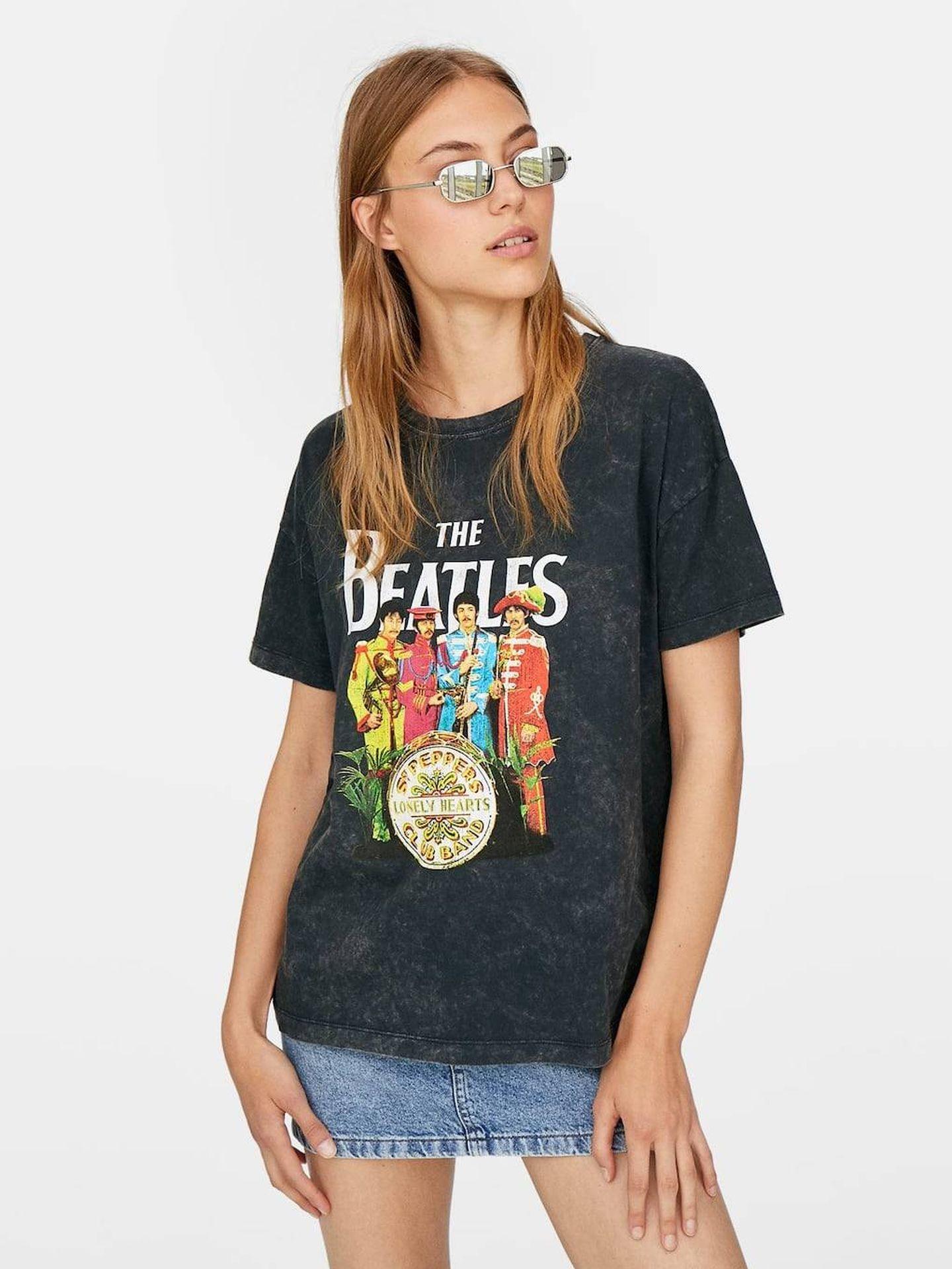 Camiseta Beatles.