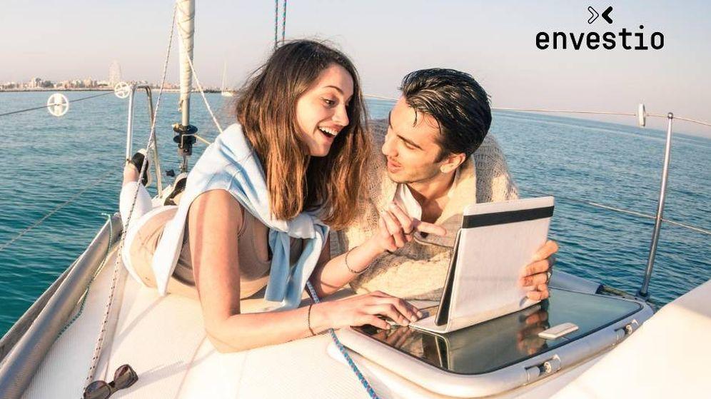 Foto: Uno de los anuncios de la plataforma Envestio. (Envestio)