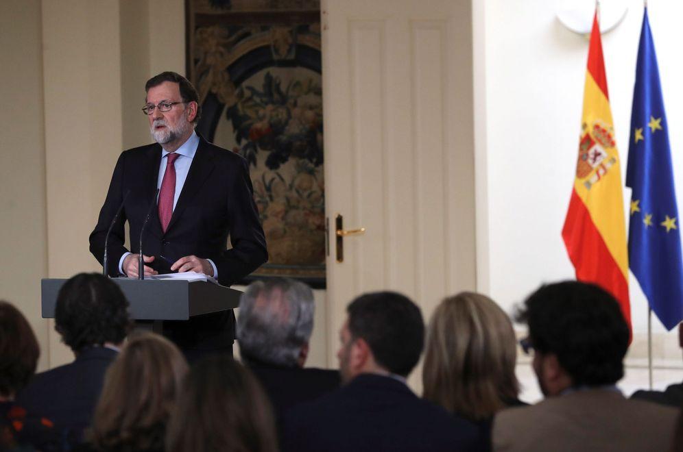 Foto: Mariano Rajoy, este 29 de diciembre tras la reunión del Consejo de Ministros. (EFE)