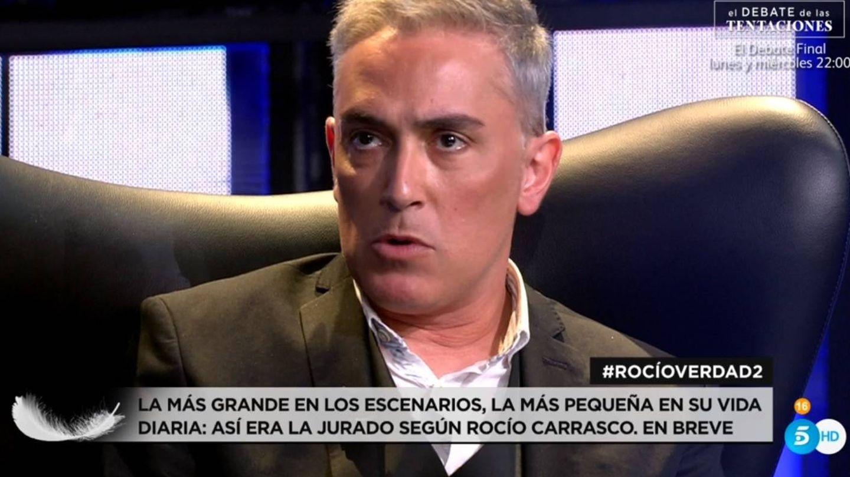 Kiko Hernández, en la serie de Carrasco. (Telecinco).