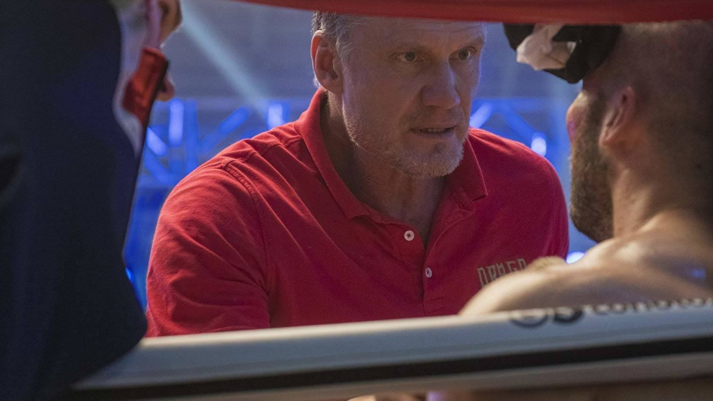 Lundgren en 'Creed II'. (Warner)