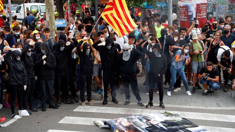 Manifestantes en la última Diada. (EFE)