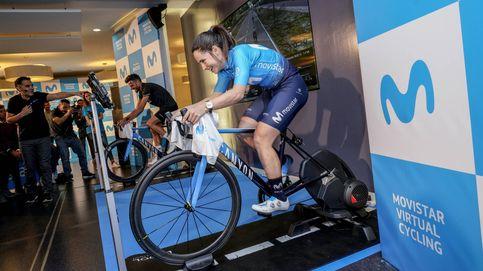 Asi funciona la última idea de Telefónica: un mundial de ciclismo virtual desde tu casa