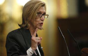 Rosa Díez acusa a Rajoy de palabrería, engaño y de publicidad engañosa