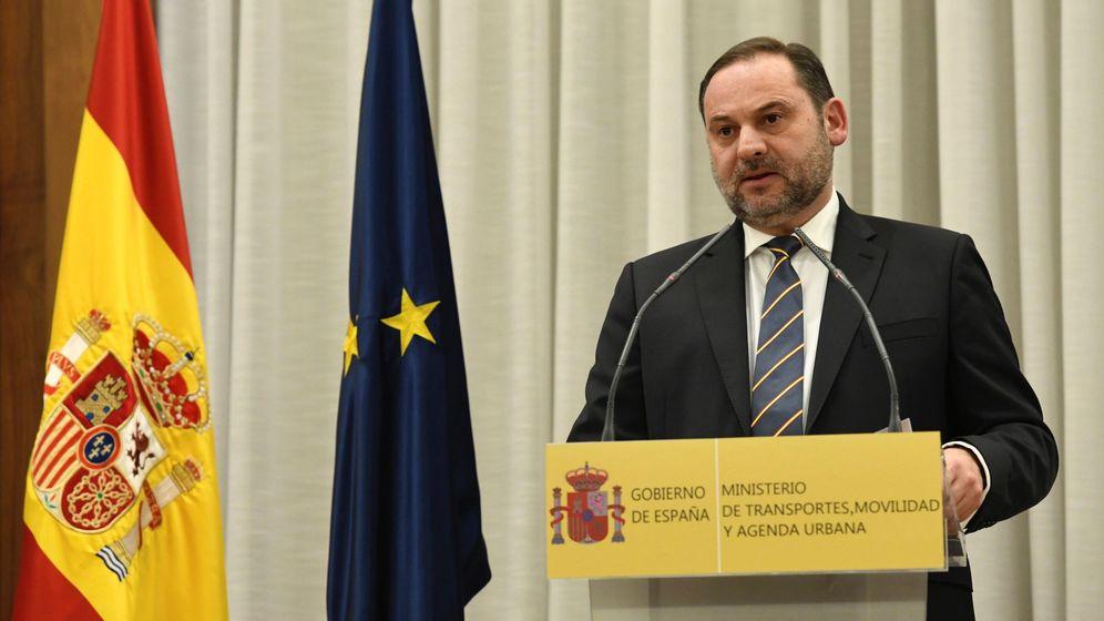 Foto: El ministro de Transporte, Movilidad y Agenda Urbana, José Luis Ábalos. (EFE)
