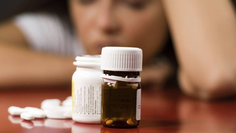 Foto: Bote de pastillas contra la depresión