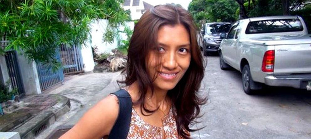 Foto: Alissa Yuyee Intusmith, exmujer del presentador de televisión Frank Cuesta