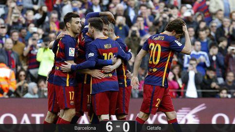 El Barça se da un festín contra el Getafe sin necesidad de sudar o correr mucho
