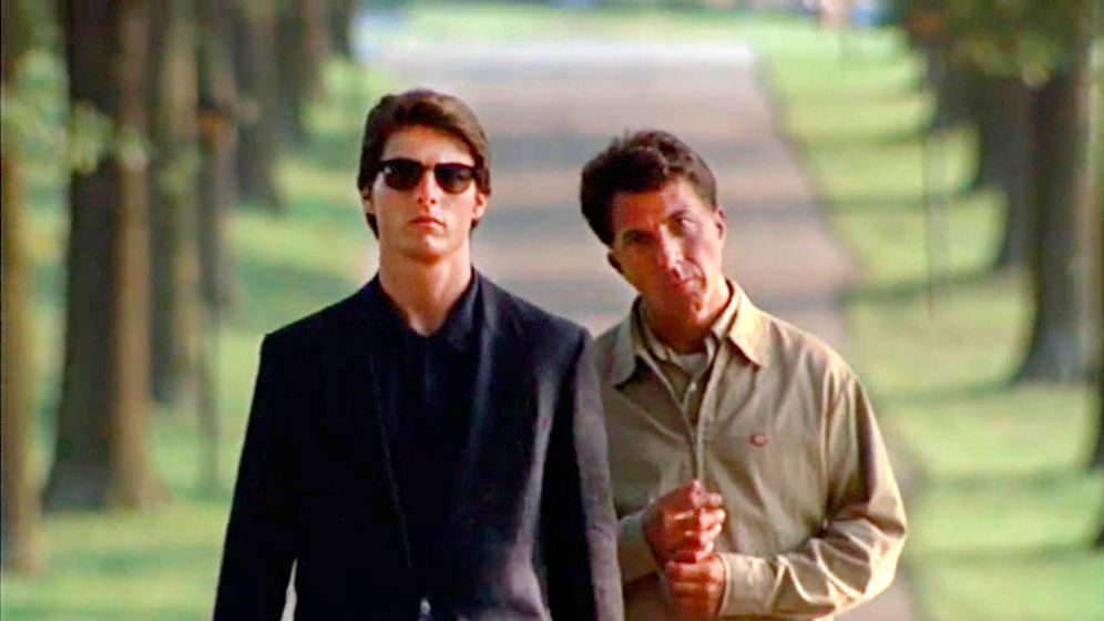 Foto: Fotograma de 'Rain Man'.