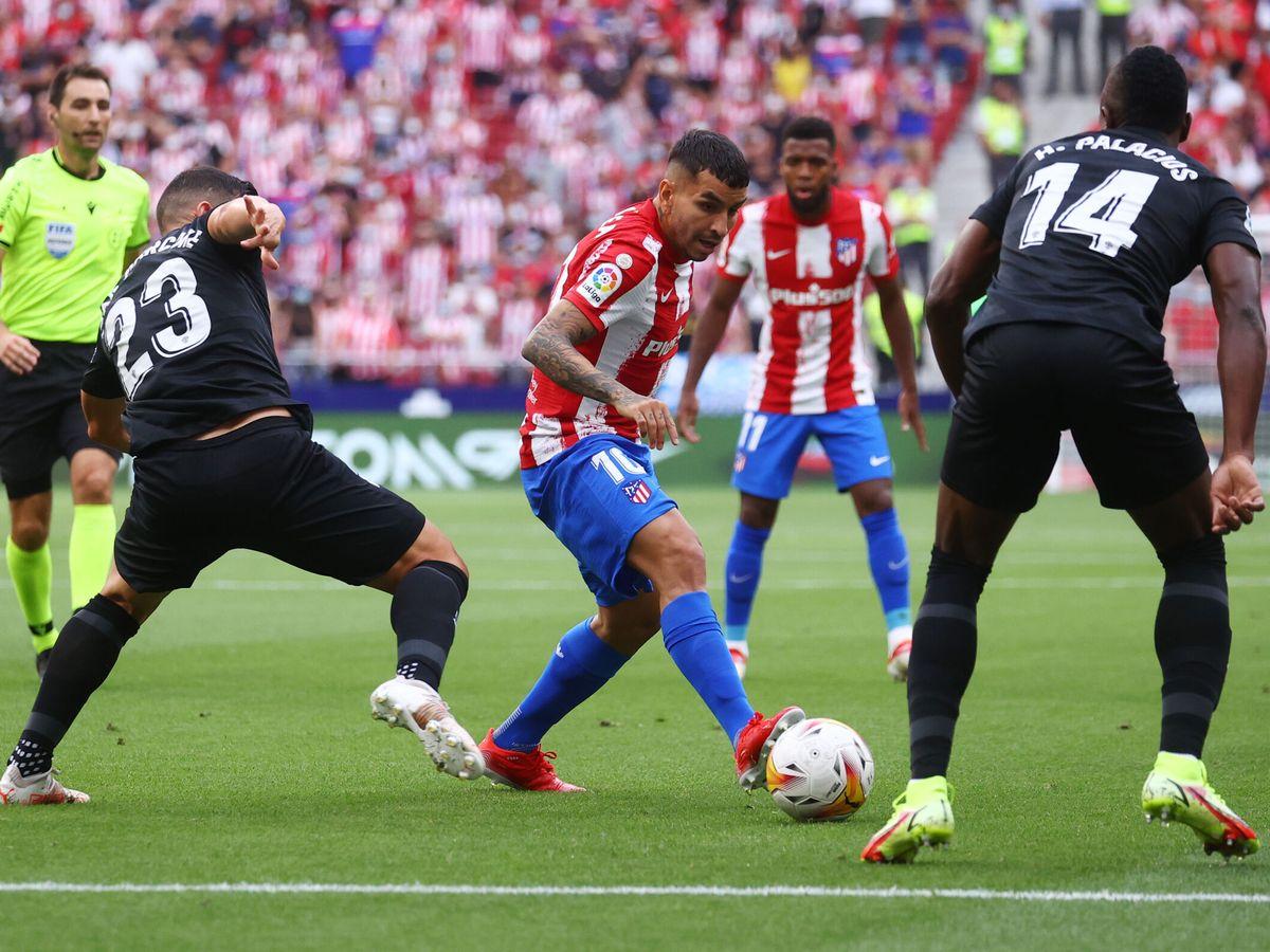 Foto: Ángel Correa ha empezado la temporada como la finalizó: a base de goles. (Reuters)