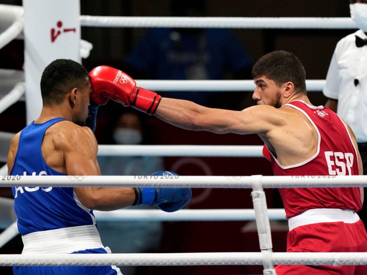 Foto: Gazi Jalidov en el combate contra Aokuoso. (@COE_es)