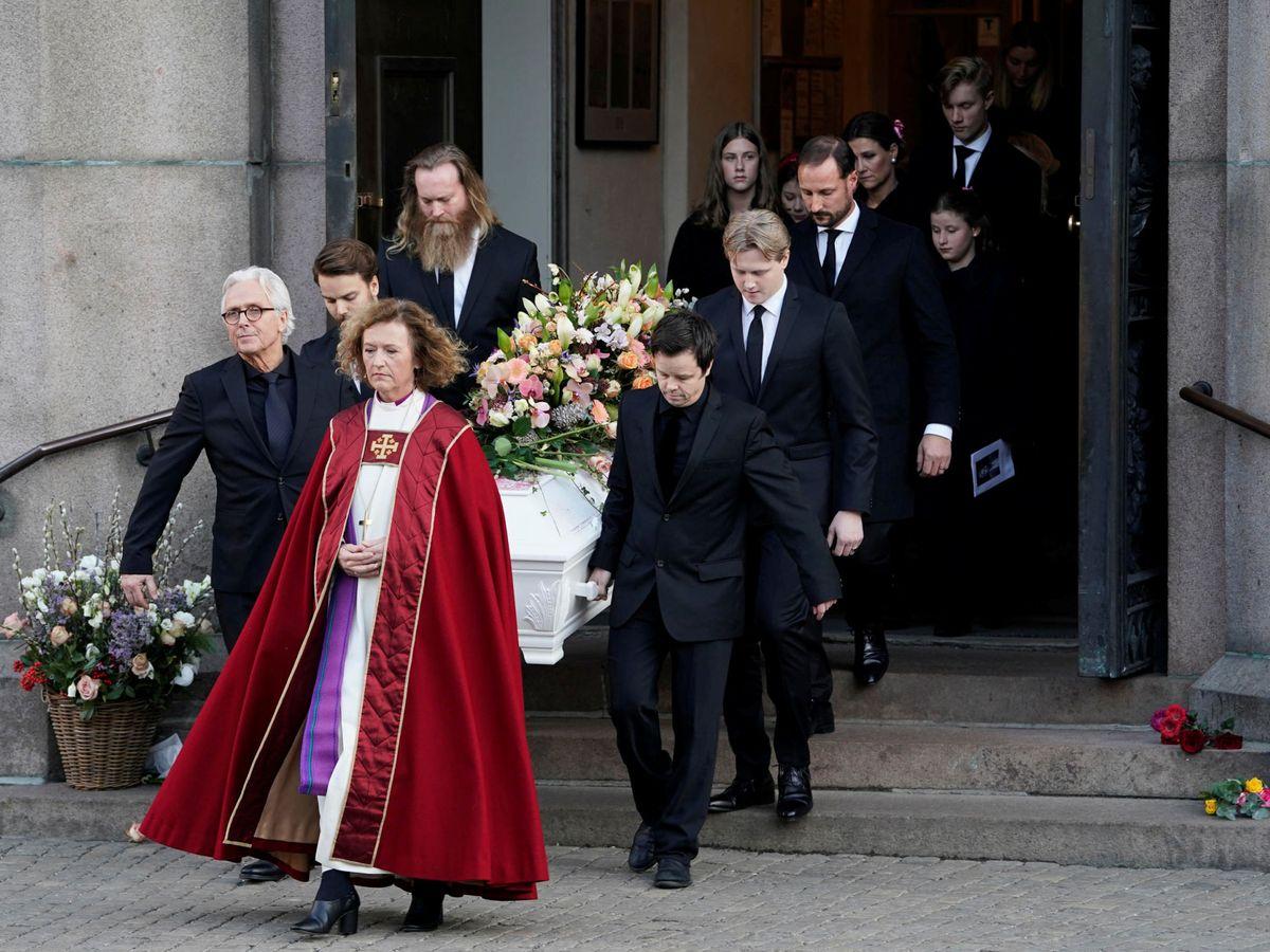 Foto: Funeral de Ari Behn. (Reuters)
