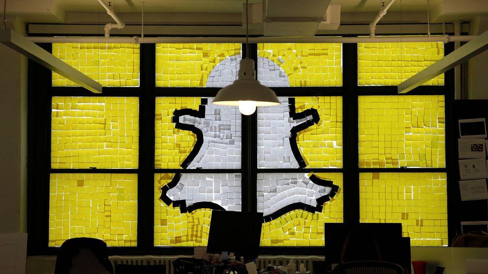 Las cifras de Snapchat: vale 20.000 millones, tiene 110 millones de usuarios