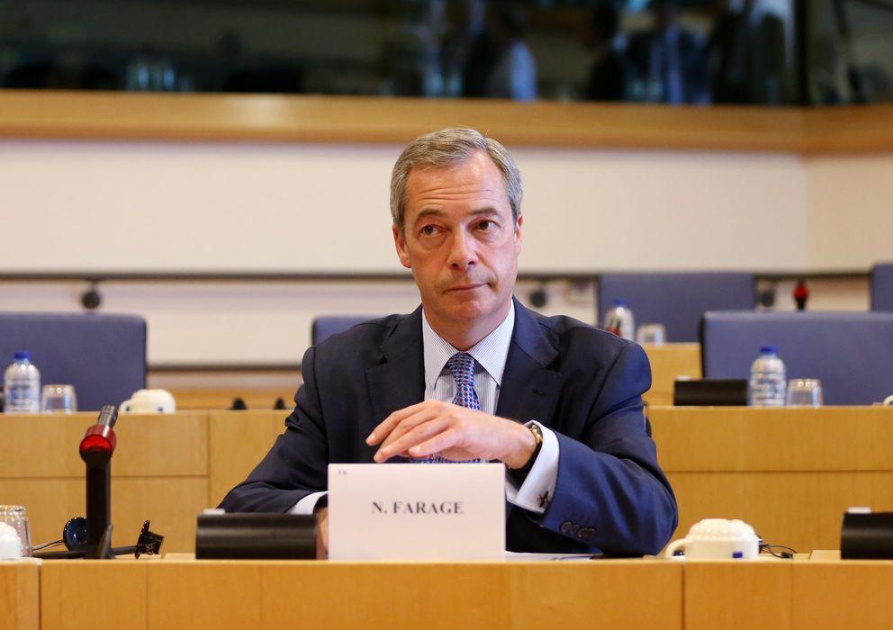 Foto:  El líder del Partido de la Independencia del Reino Unido (UKIP), Nigel Farage. (Reuters)