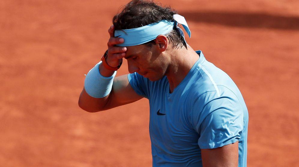 Foto: Nadal, en Roland Garros. (Reuters)