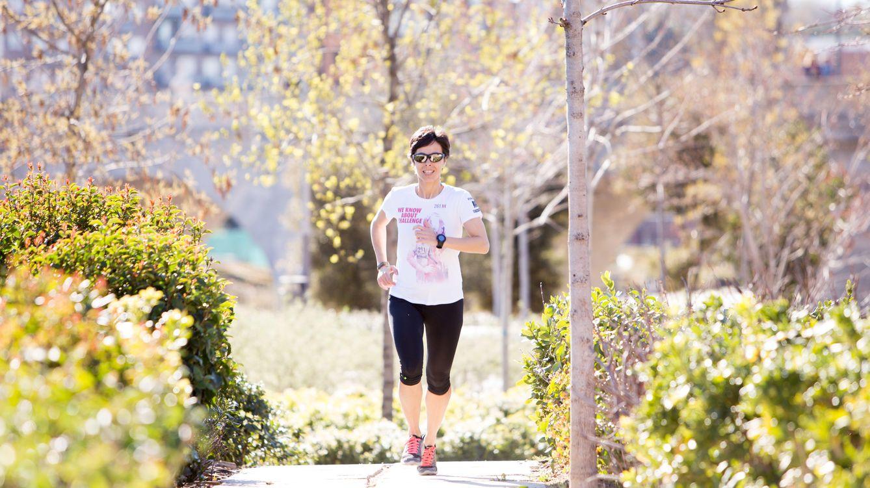 Foto: Elena Sanz es la autora del libro 'Confesiones de una runner' (Ed. Larousse). Fotos: Isaac Cepero