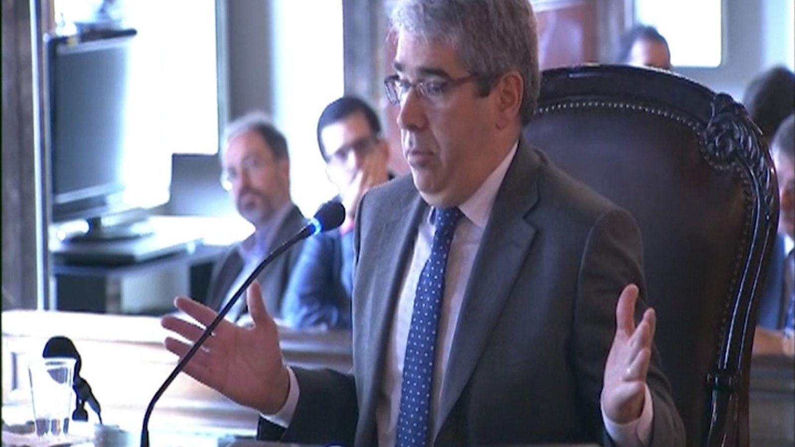 """Foto: Homs acusa al Constitucional de realizar una prohibición """"inconcreta"""" del 9-N. (EFE)"""