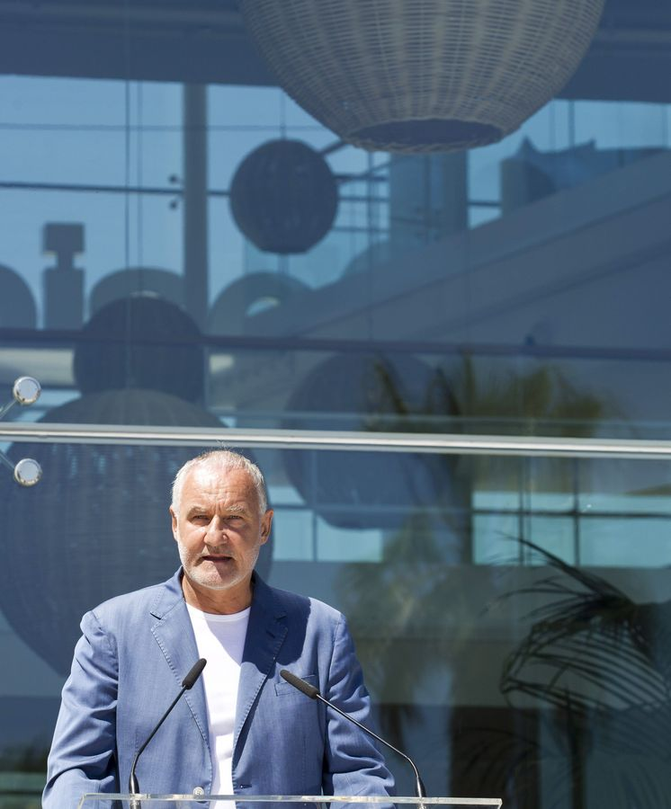 Foto: El fundador de Desigual, Thomas Meyer, en Barcelona. (EFE)