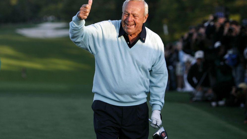 Foto: El golfista Arnold Palmer en el torneo de Augusta. (Reuters)
