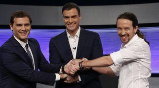 De Pedro Sánchez a Pablo Iglesias: cómo hacer de la corbata toda una paradoja