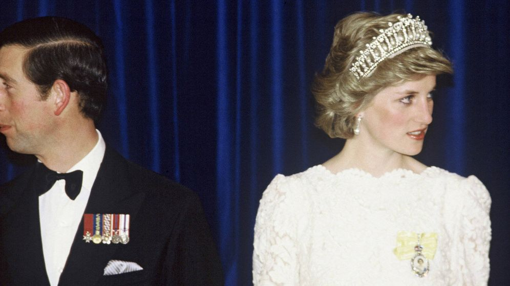 Foto: Lady Di y Carlos de Inglaterra. (Anwar Hussein1/Wireimage)