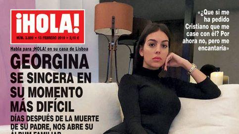 La tristeza de Georgina y el nuevo novio portugués de Vicky Martín Berrocal
