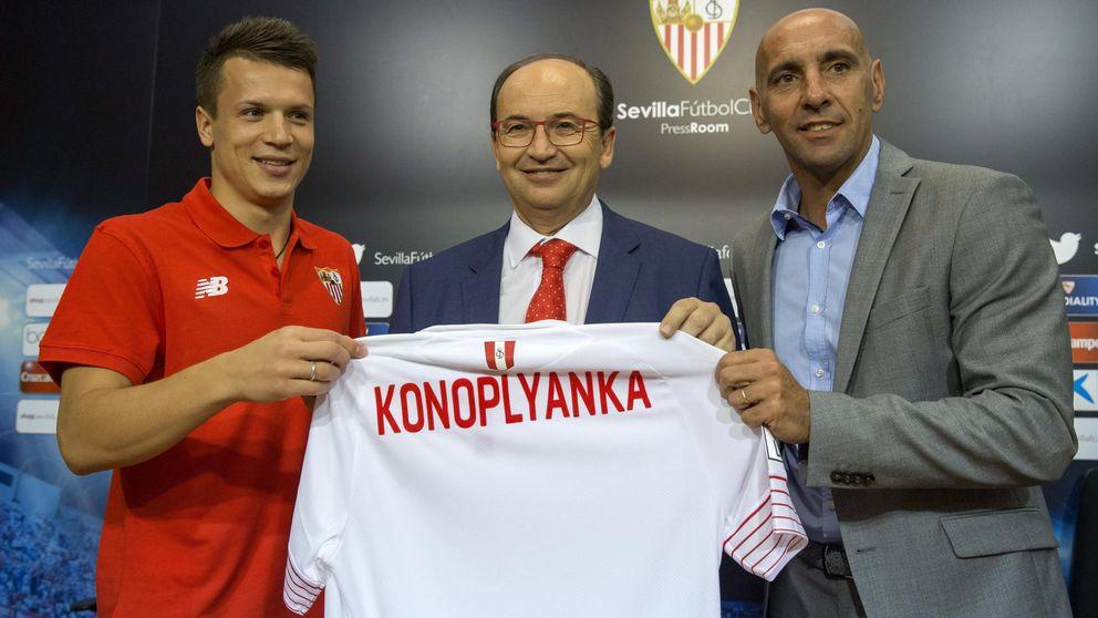 Monchi seguirá en el Sevilla porque el club no acepta liberarle de su contrato