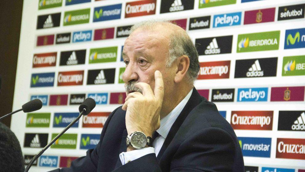 Del Bosque convoca a Aduriz y deja fuera a Costa por motivos de salud