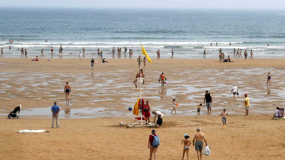 Foto: Una imagen de las playas de Gijón