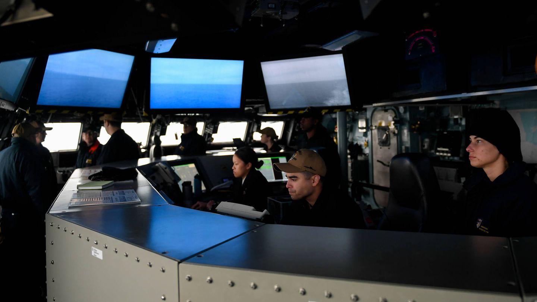 El sofisticado puente del USS Zumwalt. (Wikipedia)