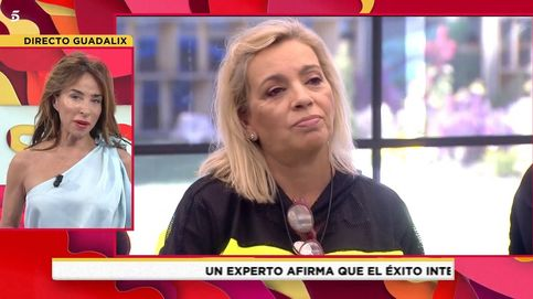 Carmen Borrego, expulsada de 'Sálvame Okupa' y reprendida por María Patiño