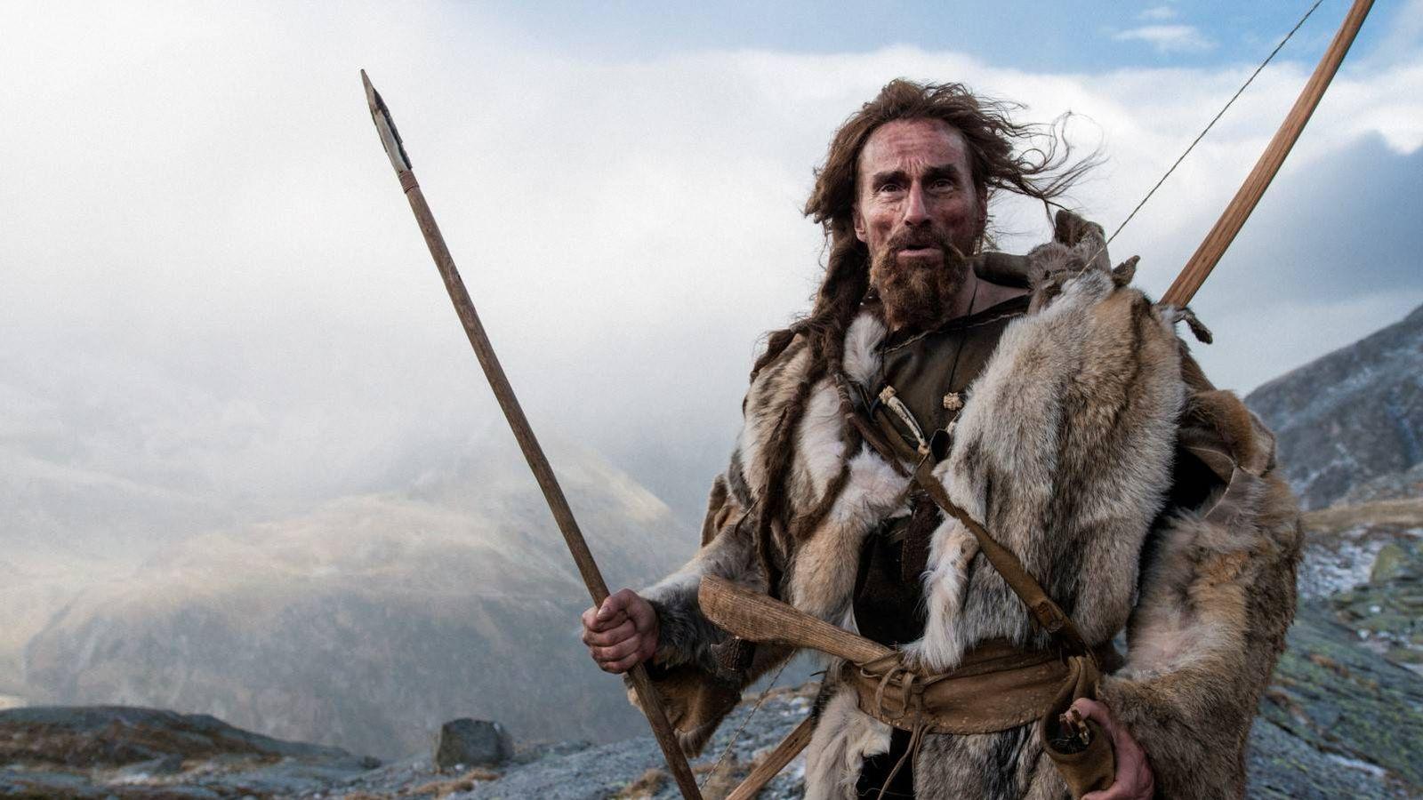 Foto: Jürgen Vogel en el papel de Ötzi. (Festival Films)