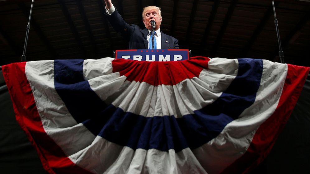 Foto: Donald Trump durante la campaña presidencial en EE.UU Foto: REUTERS Carlo Allegri