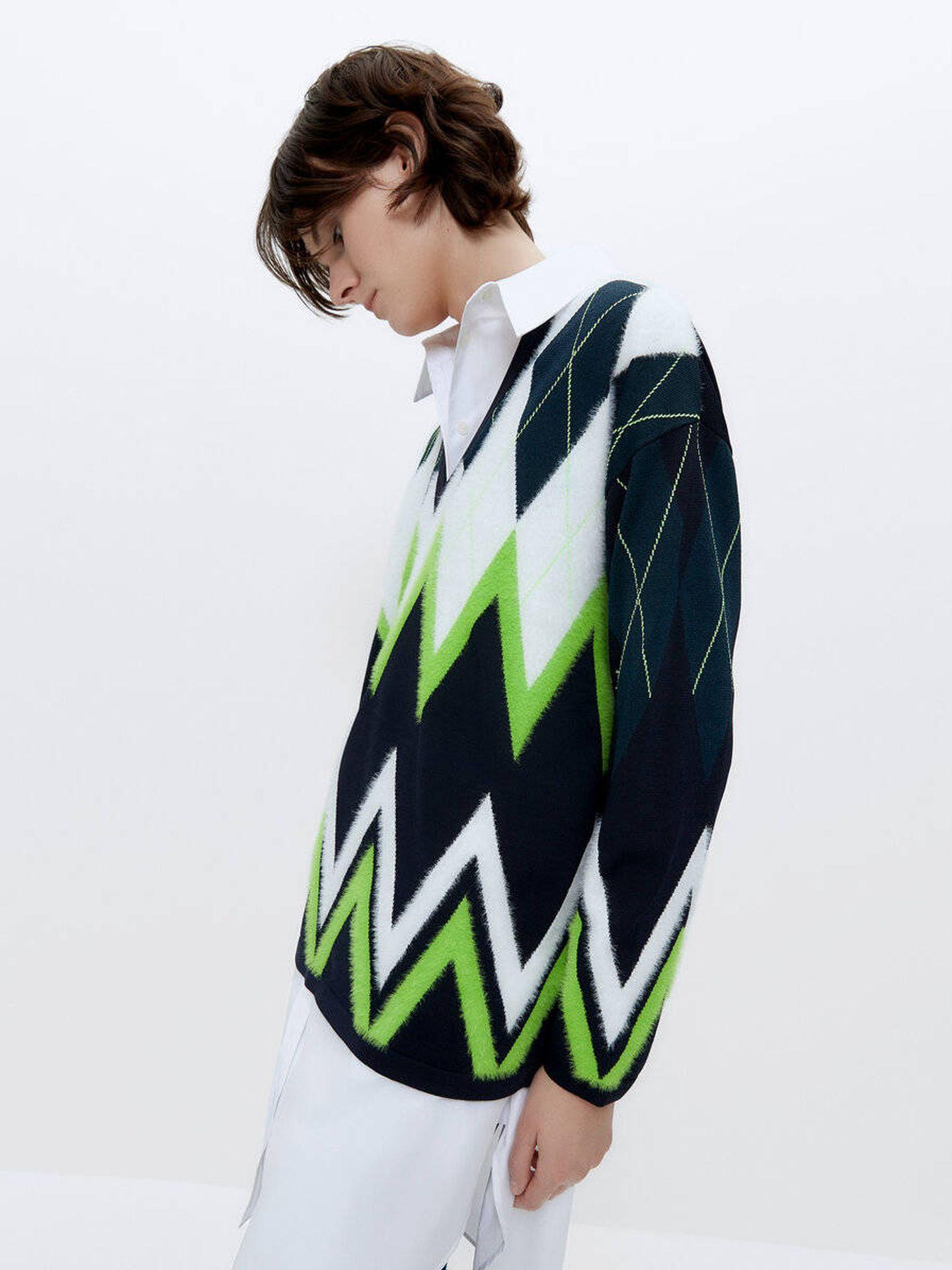 El jersey de Uterqüe. (Cortesía)