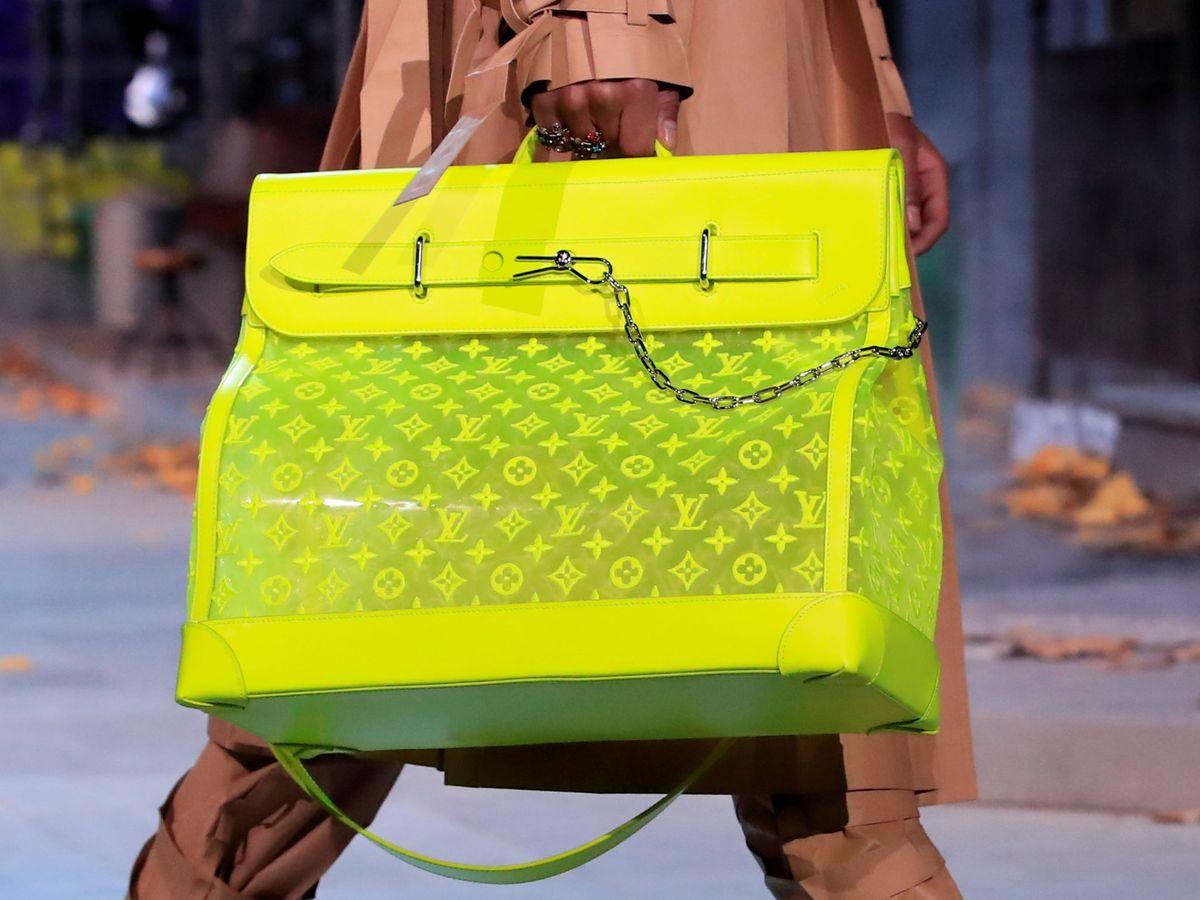 Foto: Bolso diseñador por Virgil Abloh para Louis Vuitton. (Reuters)