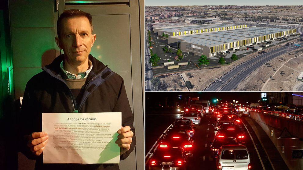 Vivir frente al mayor polígono logístico de Madrid: Vendrá Amazon y atascará todo