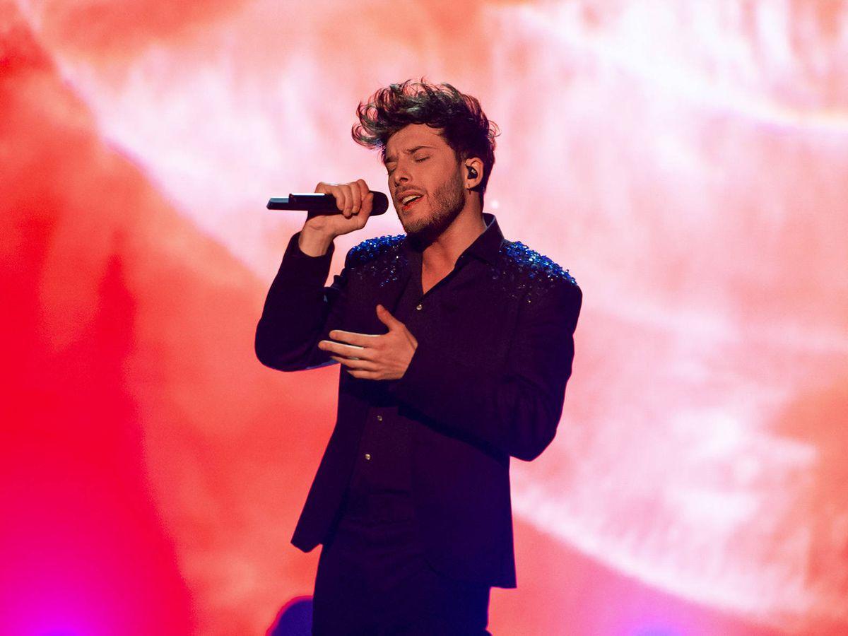 Foto: Blas Cantó, en 'Destino Eurovisión'. (TVE)