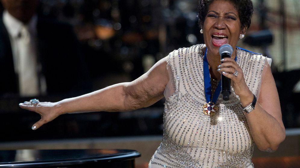 Foto: Aretha Franklin, durante una de sus últimas actuaciones (Reuters)