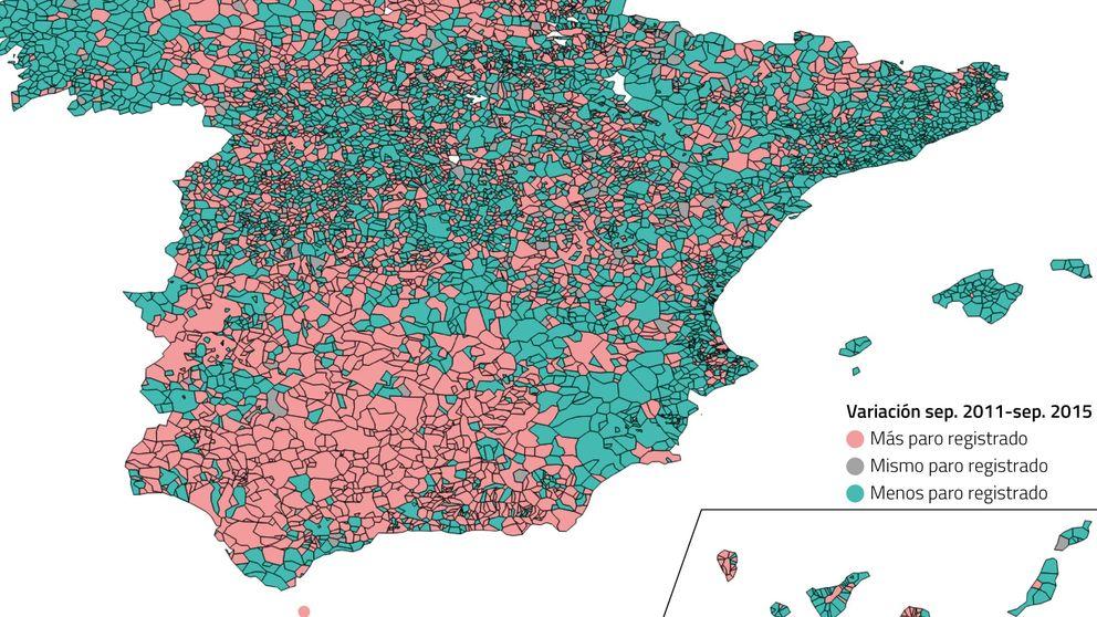Badalona y Puertollano: una España se recupera, otra se hunde