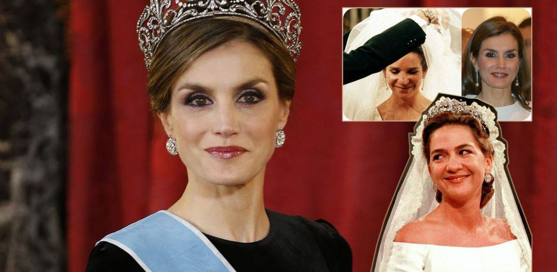 Foto: La Reina Letizia y las infantas Cristina y Elena en un fotomontaje realizado en Vanitatis