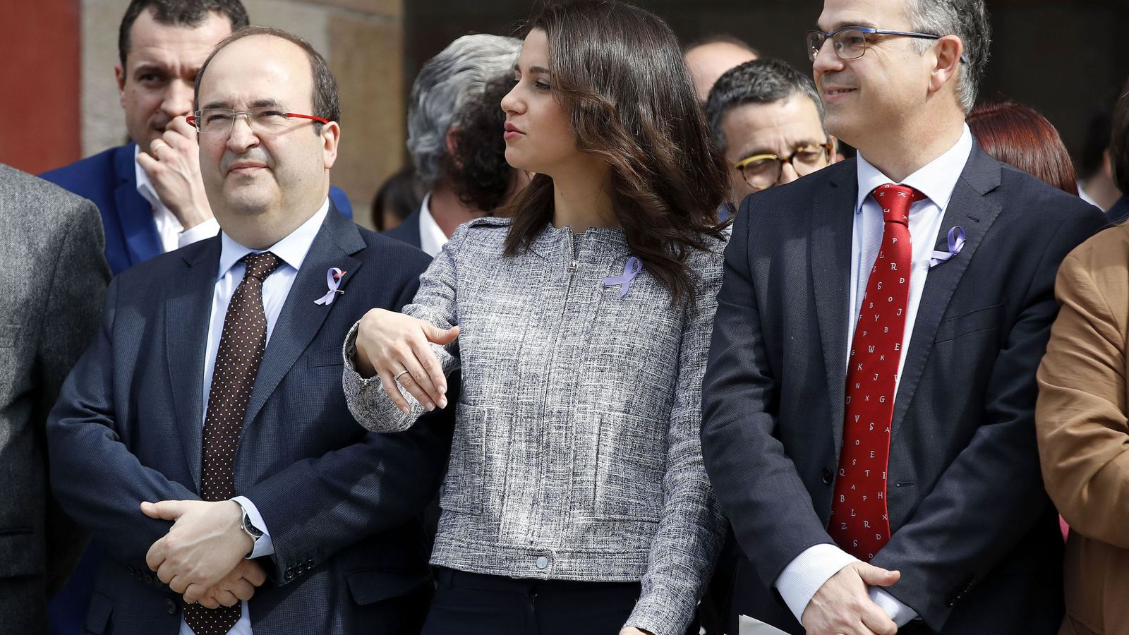 Foto: Miquel Iceta e Inés Arrimadas. (EFE)