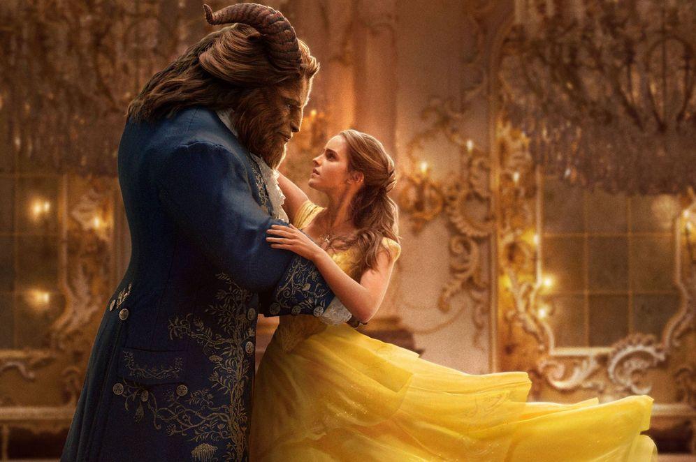 Foto: Uno de los fotogramas de 'La Bella y la Bestia', de Emma Watson y Dan Stevens