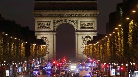 Todas las imágenes del tiroteo en los Campos Elíseos de París