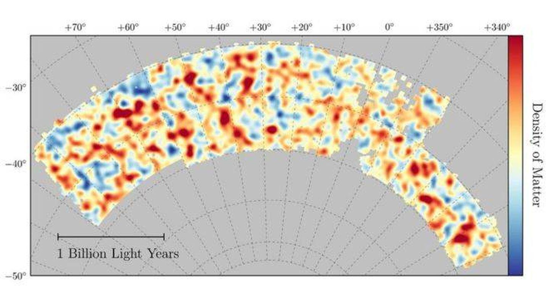 Así se reparte la materia oscura a lo largo de 26 millones de galaxias (UCL)