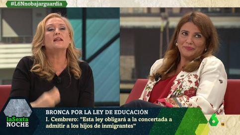 Elisa Beni estalla por la pregunta de María Claver a la ministra Celaá