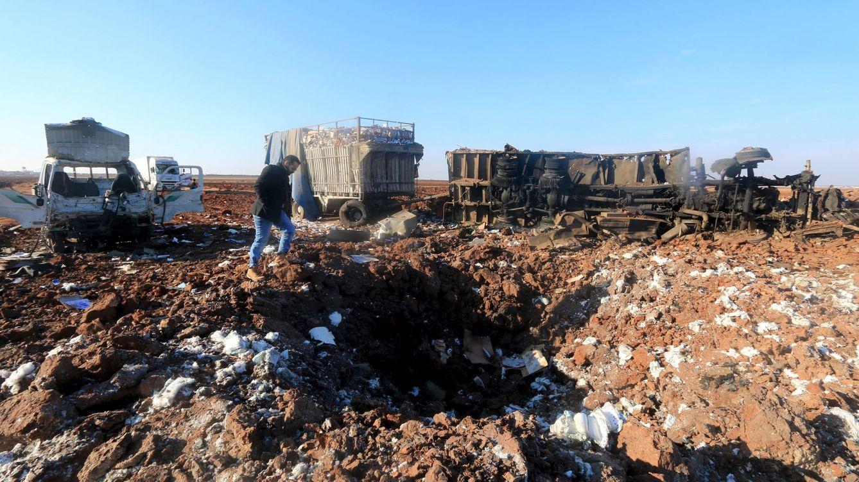 Las víctimas de Rusia en Siria: más civiles que miembros del ISIS