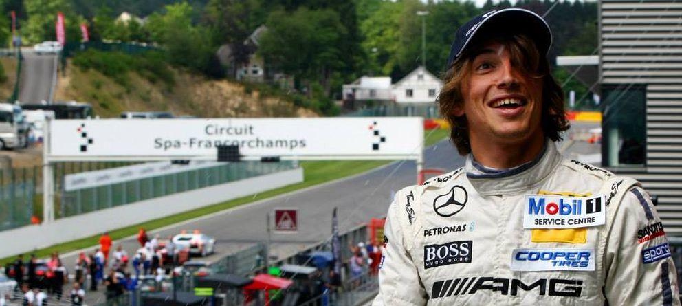 Foto: Roberto Merhi se estrenó con un F1.