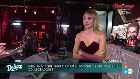 Alba Carrillo abandona entre lágrimas el plató de 'Sábado Deluxe': Gentuza