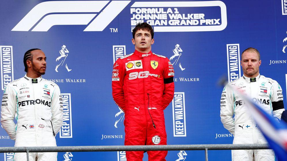 Foto: Leclerc sumó el primer triunfo de su carrera en Fórmula 1 (Reuters)